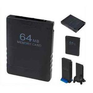 Ps2 Memory Card 64 Mb Compatible Ps2 Fat O Slim