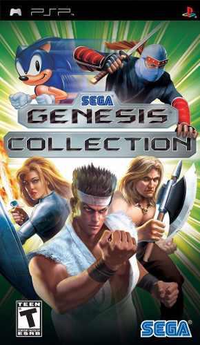 Psp - Sega Genesis Collection (acepto Mercado Pago Y Oxxo)