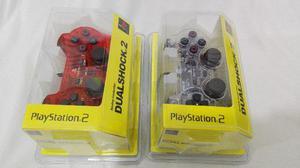 Set De 2 Controles Para Ps2 Dualshock Colores A Elegir
