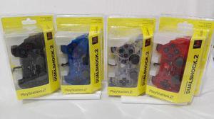 Set De 4 Controles Para Ps2 Dualshock Colores A Elegir