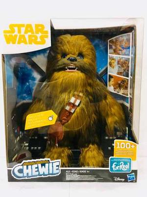 Star Wars Furreal Chewie Interactivo 100 Sonidos Hasbro