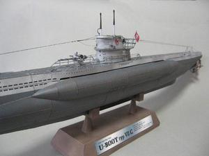 Submarino Alemán U-boat Tipo V De Ww2 (armar En Papel)