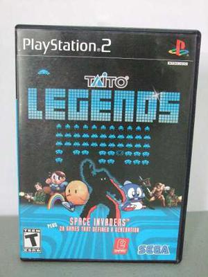 Taito Legends Ps2