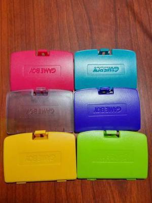 Tapas Para Game Boy Color