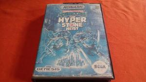 Teenage Mutant Ninja Turtles Hyperstone Heist Sega Genesis
