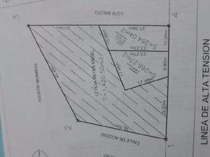 Terreno a 3 Cuadras de Av Lopez Portillo en Fracc ABC