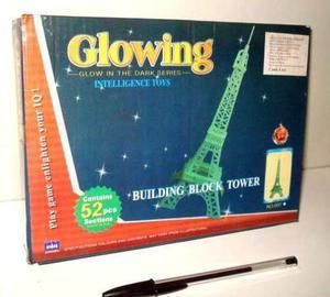 Torre Eiffel Armable Luminosa Fosforescente