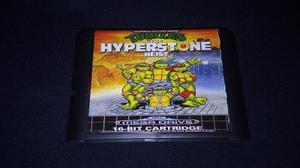 Turtles The Hyperstone Heist Sega Genesis Repr0