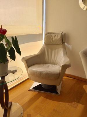 Vendo precioso sillón de piel