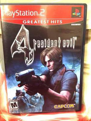 Videojuego Resident Evil 4 Ps2