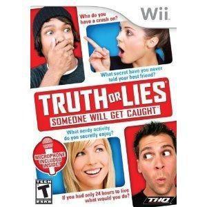 Wii Game Truth O Mentiras En Casa Con Micrófono Wii