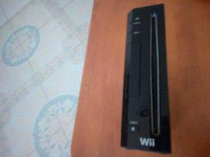 Wii Negro Con 2 Juegos Y Accesorios Usado En Buen Estado