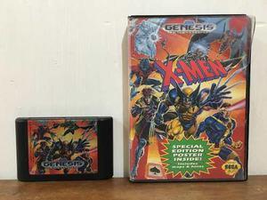 X Men Con Caja Para Sega Genesis En Buen Estado