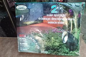 luces para el jardin o el patio solares