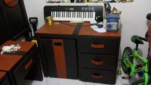 recamara (1 cabecera, 2 buro, 1 escritorio con silla) tacto