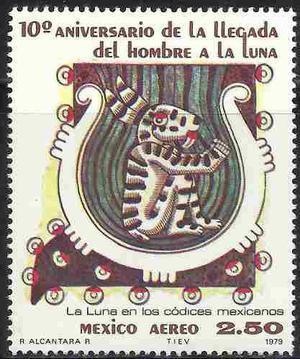 1979 Aniv Llegada Hombre A Luna Espacio Códice