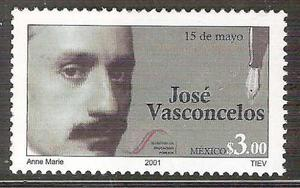2001 José Vasconcelos Día Del Maestro Escritor Filósofo