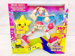 Barbie Patinadora A Control Remoto Mattel