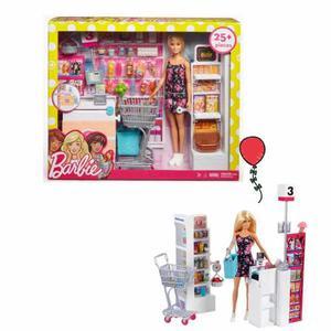 Barbie Supermercado Con Accesorios