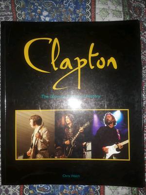 Libro de Eric clapton the ultimate illustrated