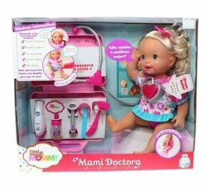 Little Mommy Mami Doctora Muñeca Interactiva Mattel