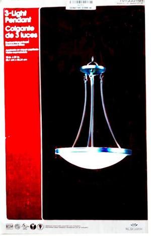 colgante de 3 luces A281 (fama)