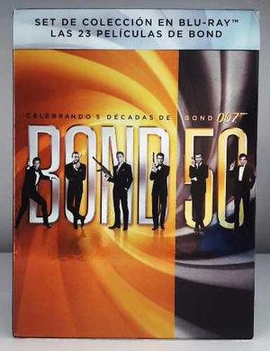 007 50 Aniversario James Bond Boxset 23 Peliculas Blu-ray