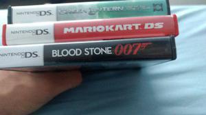 3 Juegos Para Nintendo Ds, Green Lantern, Mariokart Y 007