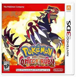 3ds Pokemon Omega Ruby Videojuego Nintendo 3ds