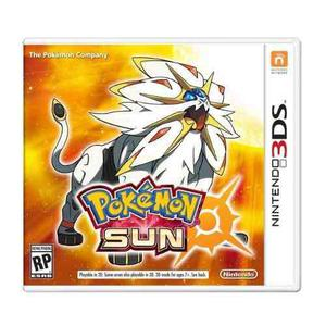 3ds Pokemon Sun / Sol Videojuego Nintendo 3ds