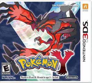 3ds Pokemon Y Videojuego Nintendo 3ds