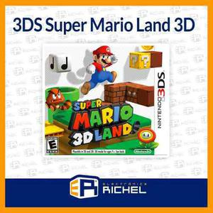 3ds Super Mario 3d Land Videojuego Nintendo 3ds