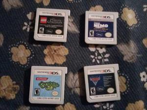 4 Juegos De Nintendo 3ds Originales Para Niño