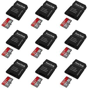 9 X Quantity Of Lg G Stylo Ultra 8gb Uhi-i/class 10 Micro Sd