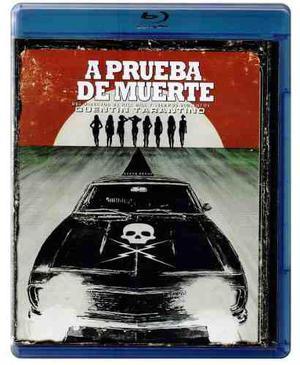 A Prueba De Muerte Death Proof Tarantino Pelicula Blu-ray