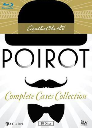 Agatha Christie's Poirot, Complete Case Collection [blu-ray]
