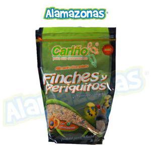 Alimento Completo Para Finches Y Periquitos Alamazonas 750g