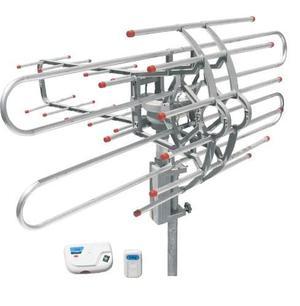 Antena Aerea Hdtv Giratoria C/ Control Remoto