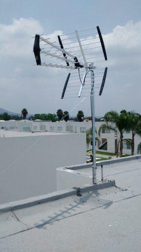 Antena Aérea De Aluminio Para Tv Hd De 42 Elementos