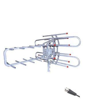 Antena Aérea Giratoria 360° Hdtv Con Booster