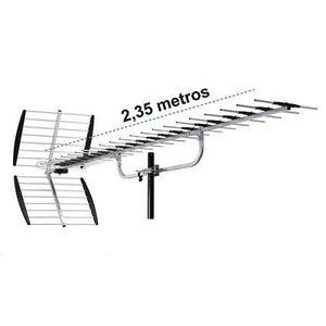Antena Hd Aerea Para Zonas Con Dificil Recepcion 40 Elemento