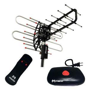 Antena Uhf Aérea Con Rotor Y Booster, De 21 Elementos Hd