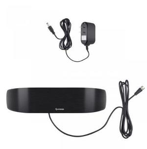 Antena Uhf Curva Con Booster De 26 Db Ant-9034 Steren Envio