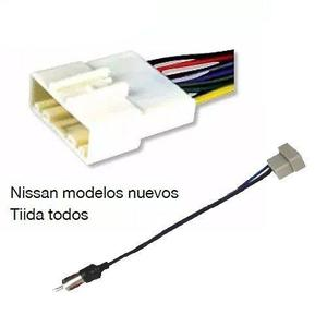 Arnes Y Adaptador Antena Versa Tiida X Trail March Np Auto
