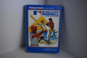 Baseball Y Horse Racing Con Caja Para Intellivision Vintage