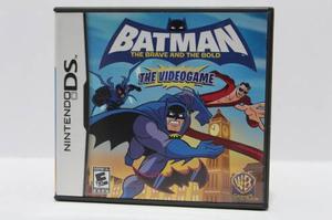 Batman The Brave And The Blood Ds Consolas De Luigi