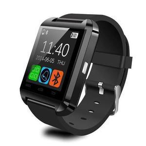 Black - Bluetooth Smart Muñeca Reloj Teléfono Mate