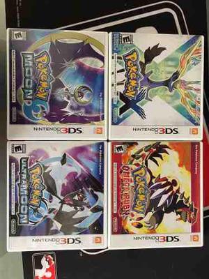 Colección De Juegos Pokemon Para Nintendo 3ds