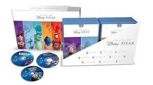 Colección Disney Pixar Blu Ray 20 Películas