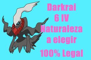 Darkrai Pokemon De Evento 6iv Competitivo